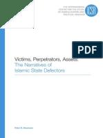 ICSR Report Victims Perpertrators Assets the Narratives of Islamic State Defectors