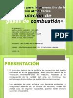 Tecnologias Para La Prevencion de La Contaminación Atmosférica