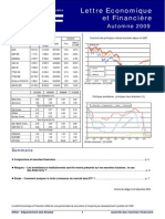 Lettre Économique Et Financière - Automne 2009[1]