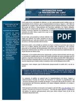 Boletín Informativo UIF N° 38