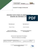 Instuctivo Elaborar MANUAL DE DISEÑO INSTRUCCIONAL