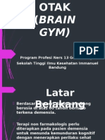 Senam Otak (Brain Gym) Ppt