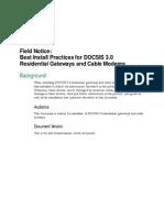 CISCO DCP Practical Advices