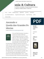 Ascensão e QuedaDasGrandesPotências _ Cidadania & Cultura