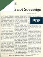 Gordon H. Clark - If God is Not Sovereign - The Southern Presbyterian Journal 18