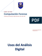 Clase ISC-406 - Usos Del Análisis Forense - P2