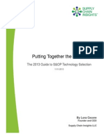 Puttingtogetherthepieces The2013guidetosoptechnologyselection 131112120258 Phpapp02