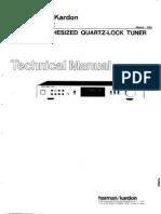 Harman Kardon tuner TU912