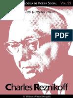 Cuaderno de Poesia Critica n 99 Charles Reznikoff