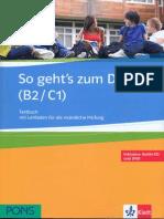 So Geht's Zum DSD II (B2-C1)Testbuch. (1)