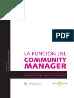 Aerco y Territorio Creativo (2009) La Función Del Community Manager