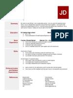 resumetemplate2015  1
