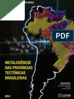 Metalogenese Provincias Tectonicas Brasileiras