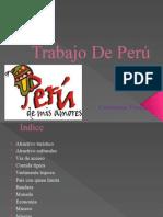 Trabajo de Perú