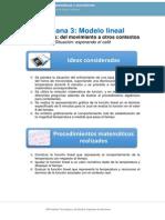 Matemáticas y Movimiento Semana 3-1