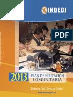 Plan Edcomunitaria 2013