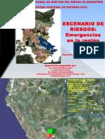 Escenario de Riesgos Emergencias