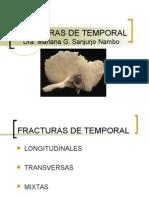 Fracturas de Temporal