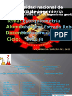 Diapositivas de Estequiometria