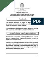 Circular02-2014-Procedimiento Matricula Profesional 20140430