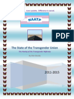 The State of the Transgender Union 2011-2015