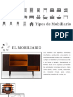 Tipos de Mobiliario