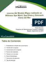 Presentacion MIGSA - Turismo de Bienestar