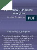 Posiciones Quirúrgicas quirúrgicas