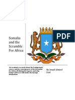 Somalia and the Scramble for Africa