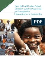 OMS Guia Sobre Salud Mental en Desastres y Emergencias