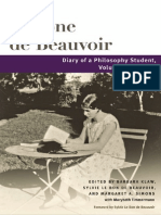 Simone de Beauvoir, Diary of a Philosophy Student v.1, 1926-27