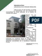 La vivienda modernista en Piura desde 1800 a 1900.