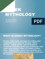 greek mythology intro