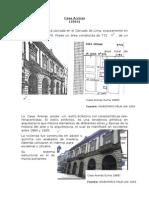Tipología de viviendas en Lima desde 1800 a 1900.