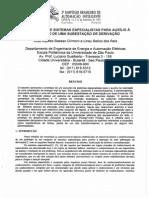Artigo - Um Conjunto de Sistemas Especialistas Para Auxílio a Operação de Uma Subestação de Derivação
