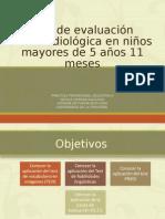 Revisión Bibliográfica Ev. F.a en Niños Mayores a 5.11 Años