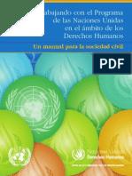 Derechos Humanos - Un Manual Para La Sociedad Civil