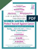 Women Saving Women 2010