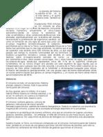 Tierra, Universo, Marimba y Sus Partes