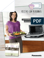 Panasonic Recetario Microondas