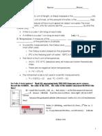 20150914 notes measurement notes