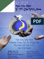 Flyer for VNMAP Banquet in Vietnamese