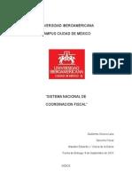 El sistema nacional de coordinacion fiscal