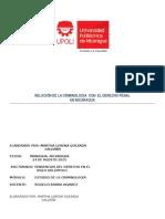Relación de La Criminologia Con El Derecho Penal-1