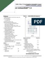 Cellular RAM Datasheet