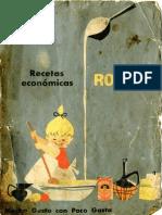 Recetas Económicas Royal