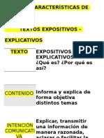 Características de Los Textos Expositivos (Papelografo)