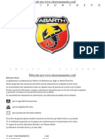 Abarth Punto Evo Manual del usuario