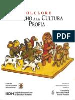 Folclore Derecho a La Cultura Propia 1997