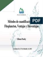Metodos de Cuantificacion Del Fitoplancton